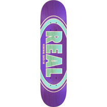Real Oval Duofade Renewal Deck-7.56 Pur/Grn Ppp