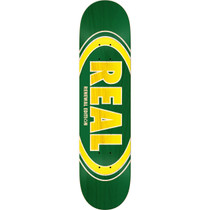 Real Oval Duofade Renewal Deck-7.75 Grn/Yel Ppp