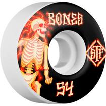 Bones Stf V1 Blazers 54Mm White