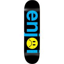 Enjoi Frowny Face Deck-8.0 Blk/Blue Ppp