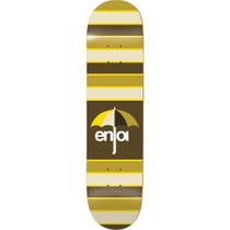 Enjoi Stripes Deck-8.25 Brown Ppp