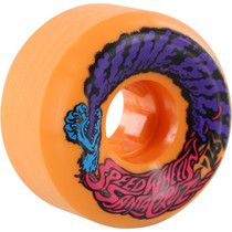 Santa Cruz Slimeballs Vomits Mini 56Mm 97A Neon Orange