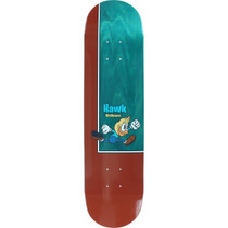 Bp Hawk Birds Deck-7.75 Red/Natural