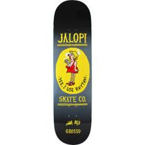 Ah Grosso Jalopi Deck-8.5 Blk/Yel