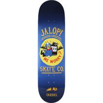 Ah Cardiel Jalopi Deck-8.28 Blu/Yel