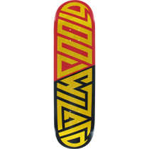 Blood Wizard Future Wasteland Deck-8.25 Yel/Red/Bk