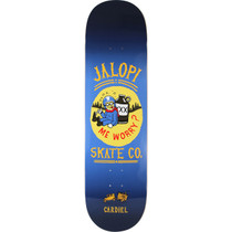 Ah Cardiel Jalopi Deck-8.75 Blu/Yel