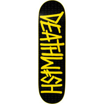 Dw Deathspray Rise Up Deck-8.75 Blk/Yel