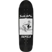 Suicidal Skates Pool Skater Dk-8.62X32.5 Blk Gloss