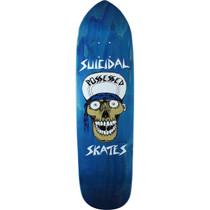 Suicidal Punk Point Skull Deck-8.75X32.87 Blue