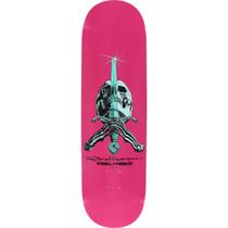 Pwl/P Skull & Sword Pastel Deck-8.5 Pink