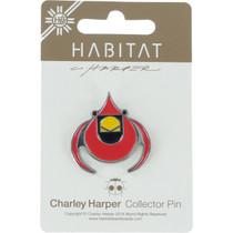 Habitat Harper Cardinal Enamel Pin