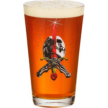 Pwl/P Skull & Sword Pint Glass