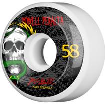 Pwl/P Mcgill Skull & Snake 4 Pf 58Mm Wht/Blk 103A