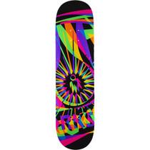 Aw Og Dayglo Deck-8.25 Blk/Neon