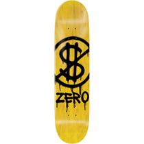 Zero Hardluck Deck-8.0 Yel Stain/Blk