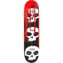 Zero 3 Skull Blood Deck-8.25 Blk Stain Veneer