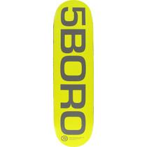 5Boro Ext Logo Deck-8.0 Yel/Grey