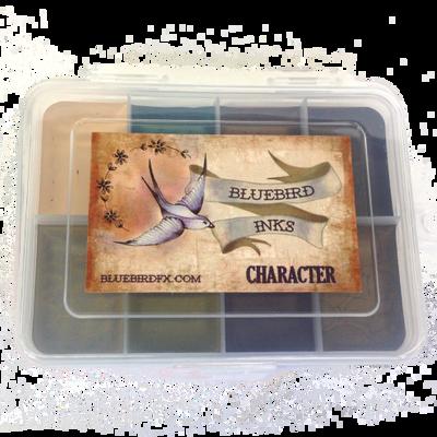Bluebird Character Palette