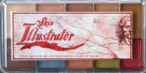 Skin Illustrator Fleshtone Palette