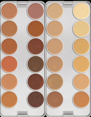 Dermacolor Camouflage 24-Color Palette Art. 71008 K