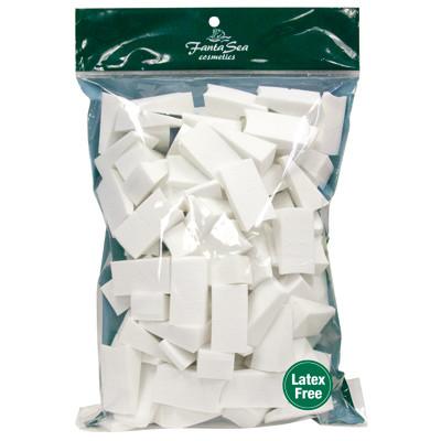 Fantasea Latex-Free Foam Wedges 100/Count