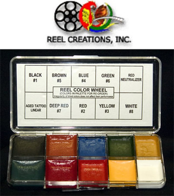 Reel Creations Color Wheel Palette