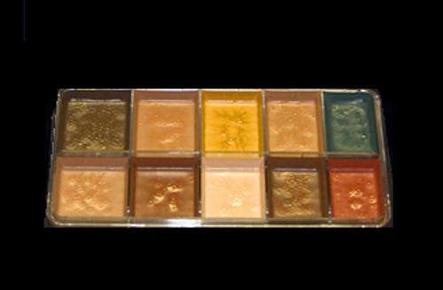 Reel Creations Dark Fleshtone Palette