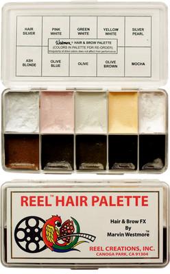 Reel Creations Marvin Westmore Hair & Brow FX Palette