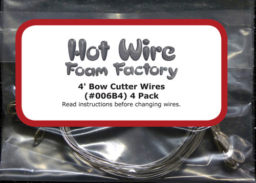 HWFF Wires 4 ft Bow Cutter 4-pack