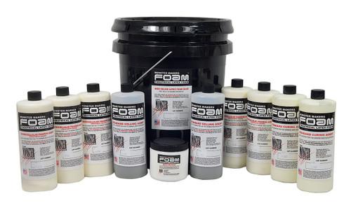 Monster Makers Foam Latex Prosthetic Grade 5 Gallon Kit