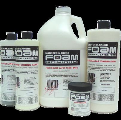 Monster Makers Foam Latex Prosthetic Grade Gallon Kit