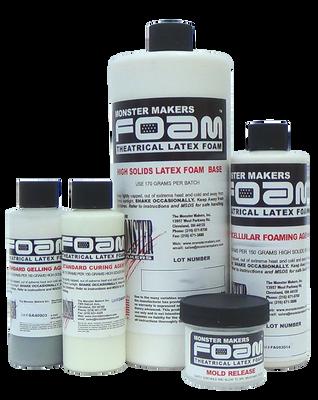 Monster Makers Foam Latex Prosthetic Grade Quart Kit