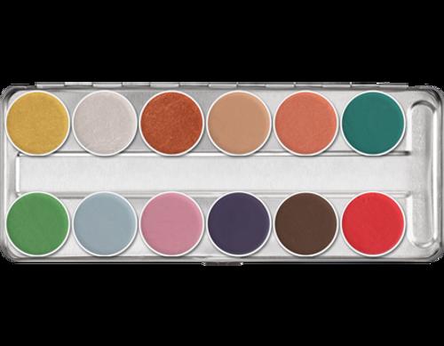 Aquacolor Interferenz 12-Color Palette 01144 Standard