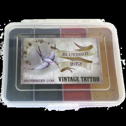 Bluebird Vintage Tattoo Palette - 4 Shades