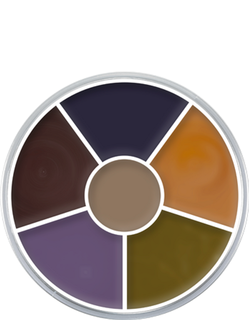 Kryolan Cream Color Circle: Bruise - Art 1306