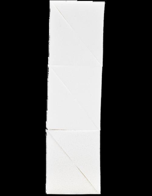 """Kryolan Sponge Wedges Latex 2"""" x 3"""" 01449"""