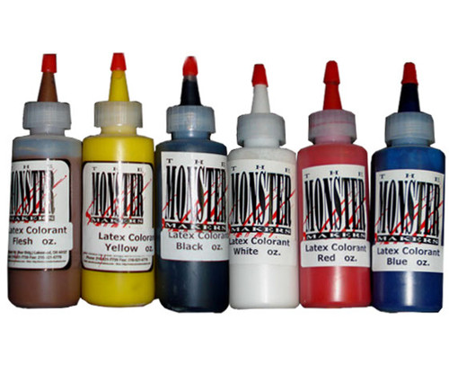 Monster Makers Latex Colorant 4oz Kit