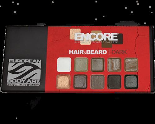 Encore Hair & Beard Dark Palette