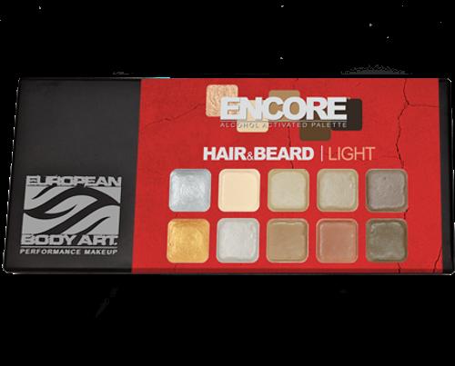 Encore Hair & Beard Light Palette