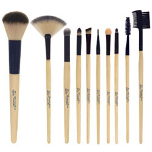 Fantasea Bamboo Cosmetic Brush 10/Piece Set