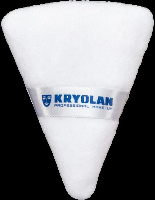 Kryolan Powder Puff Double Sided White 01729
