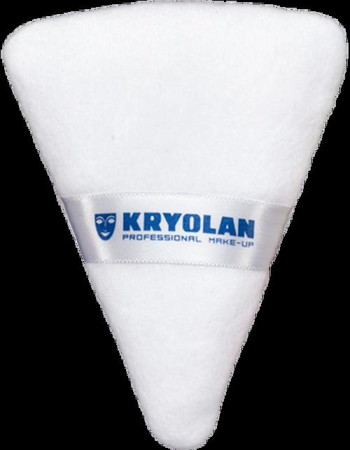 Kryolan Powder Puff Triangular 01726/00