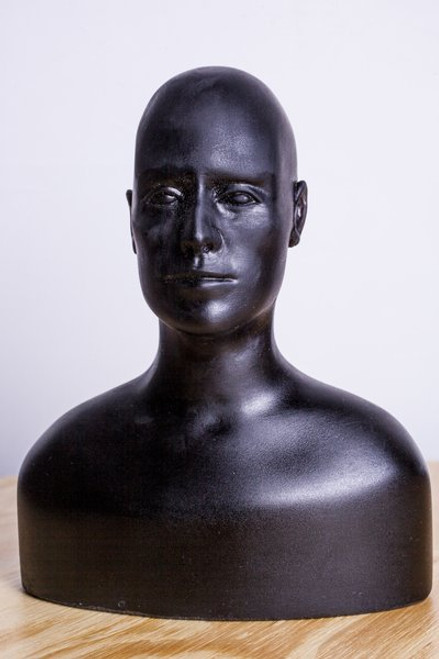 Cutting Edge Sculpture 1:4 Maquette Head