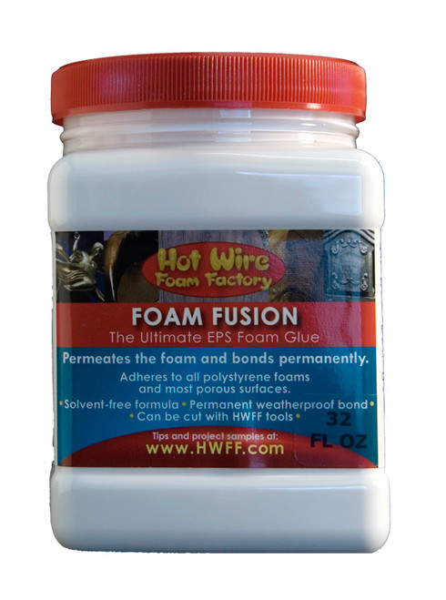 HWFF Foam Fusion Glue 32 Oz (1 Quart)