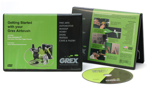 DVD Getting Started with your Grex Airbrush