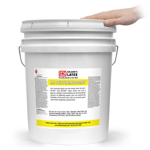 5 Gallons of liquid latex hardener
