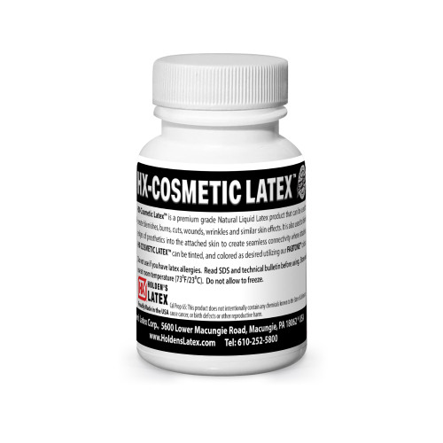 2-oz of cosmetic liquid latex
