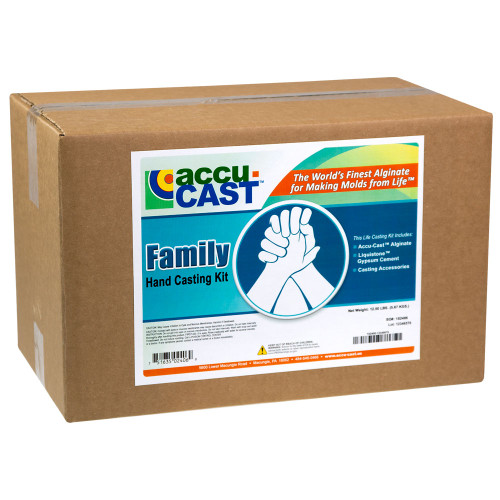 Family Fun with the Family Hand Casting Kit. Used by thousands of happy families. The pose you choose is up to your imagination. A real keepsake
