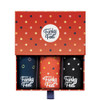 Funky Feet Small Polka Dots Men's Box Set